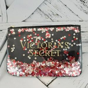 NWOT Small Victoria Secret Sequins Wristlet